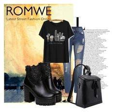 """Romwe"" by aaidaa ❤ liked on Polyvore featuring мода"