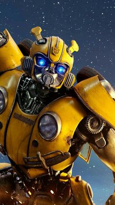 Transformers Bumblebee Movie Animated Standees Appearing in US Transformers Bumblebee, Transformers Film, Mobile Wallpaper, Iphone Wallpaper, Robot Wallpaper, Transformer Party, Bumble Bee Transformer, Film Serie, Anime