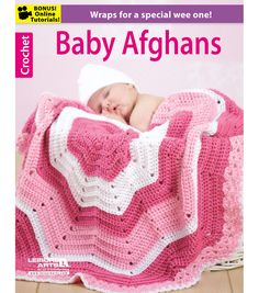 Leisure Arts Sweet Stripes For Baby - Crochet Pattern. Sweet Stripes for Baby from Leisure Arts presents eight crochet baby afghans that create nursery pizzazz Baby Afghan Crochet Patterns, Crochet Baby Blanket Beginner, Crochet Patterns For Beginners, Crochet Afghans, Blanket Patterns, Crochet Blankets, Baby Afghans, Baby Blankets, Manta Crochet