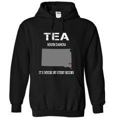 (Tshirt Nice T-Shirt) TEA Its Where My Story Begins Discount Best Hoodies, Funny Tee Shirts