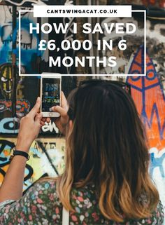 How I Saved £6000 in 6 months | I've managed to save £6,000 in 6 months by giving up the high street, cancelling direct debits, questioning every purchase and making extra money where I can. Here's how I managed to save money in a short space of time