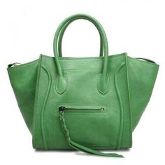 326f215ab576 Celine Luggage Phantom Square Bag in Suede 199s Small green - CELINE  handbags - Designer Handbags