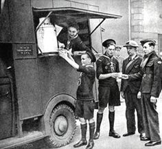 Image detail for -... mobile canteen - London, World War II - by Miss Magnolia Thunderpussy