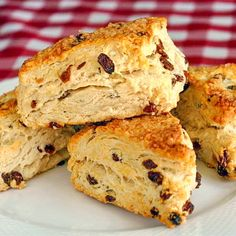 No Sugar Added Raisin Scones - Rock Recipes
