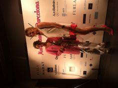 Evento Manhattan to Barcelona: Alejandra Prat y Carla de Bulgaria posando en el photocall de Manhattan to Barcelona