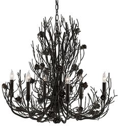 Currey and Company Epine Chandelier SALE