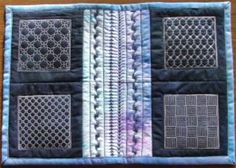 Sashiko Embroidery Designs