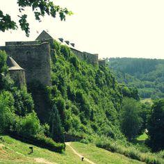 Bouillon #burcht #Ardennen #view