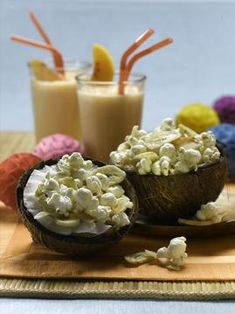 Coconut Monkey Mix  (Use a butter substitute to make it vegan.)