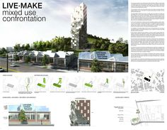 Grand Prize: mixed use confrontation by Oliver Terrisse