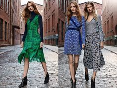 Diane Von Furstenberg has a story for every collection and this was no exception. Pre Fall 2016 was titled Palazzo and was inspired by 'the grand palazzos of Rome and Florence', as well as the Italian patterned silk ties and scarves of E. Marinella. You can see this influence in the printed soft, weightless dresses and skirts.