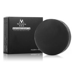 Handmade Soap Comfort Face Skin Whitening Effective Remove Blackhead Oil Control Bamboo Charcoal Soap