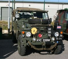 #Landrover S3 88. HCVS Whitwood Truck Stop 121 by Frank Hilton., via Flickr