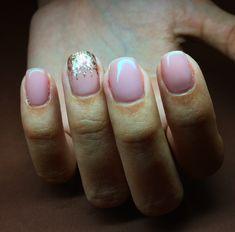 Lovely nails, nude natural elegant nails