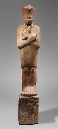 Statue of Nesi (Pharaoh) Nebhepetre Montuhotep II in the Jubilee Garment | Middle Kingdom Founder | The Met