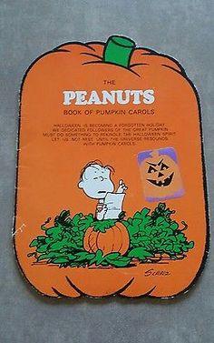 peanuts pinterest halloween - Charlie Brown Halloween Book