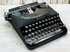 Working Vintage Remington Remette Portable Typewriter $200