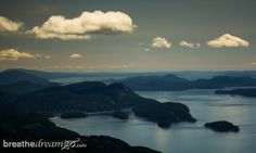 Harbour Air Seaplanes, float plane, airplane, harbour, Vancouver, water, Gulf Islands, Salt Spring Island via @Breathedreamgo