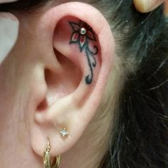 37 Ear Tattoos - See Which Made Our #1 | Tattoos Beautiful
