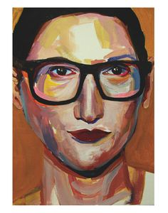 Jenna Lyons by Ellie Skrzat for @buddyeditions