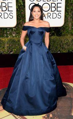Gina Rodriguez, a Jane The Virgin, foi de Zac Posen