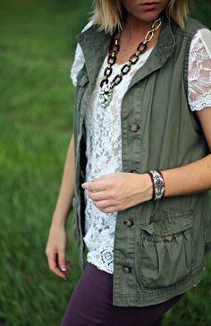 cargo vest fashion