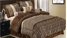 leopard decorations for bedrooms