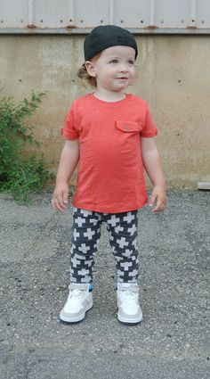 Hanes' outfit: Stella & Crew | Top - Zara  | Leggings - Candy Kirby Designs | Shoes - Zara