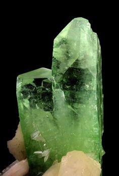 Apophyllite with Stilbite   India