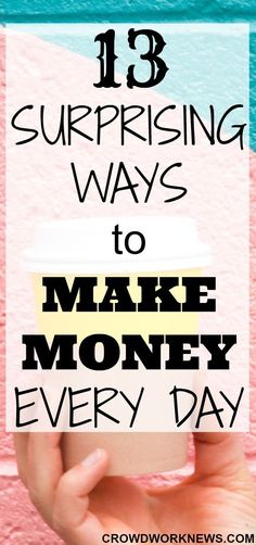 Do you know that there are many ways you can earn money every day? Yes, there are! Click through to find out some surprising ways to earn money in your daily routine without doing much.