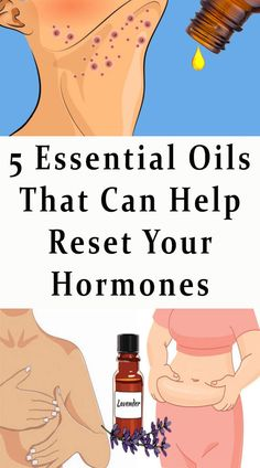 5 Essential Oils That Can Help Reset Your Hormones #hormones #health #darkspot #fitness #fat #beauty #face