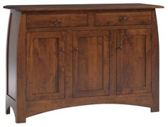 Mission Sideboard traditional buffets and sideboards.  I like the simplicity and the curved lines.