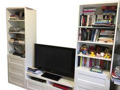 IKEA TV Ünitesi ve Kütüphane - dekopasaj.com