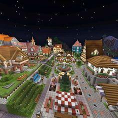 No photo description available. Minecraft Farmen, Minecraft Shops, Minecraft Modern, Cute Minecraft Houses, Minecraft House Designs, Minecraft Construction, Minecraft Blueprints, Minecraft Crafts, Minecraft Buildings