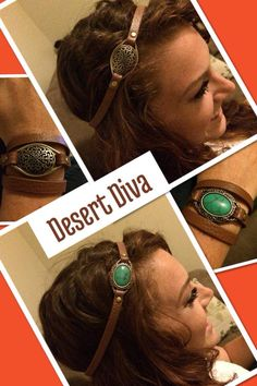Desert Dive bracelet can also be worn in the hair! #pdstyle #premierdesigns
