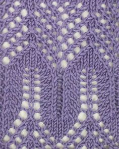 Arches and Mesh Lace, another marvelous example of the beautiful stitches of Estonia.  Find it in the Estonian Lace category.