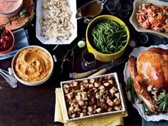 Gravy that won't go to your gut  SERVINGS: 8   1 s onion, finely chopped (1/2 c) 6 oz (about 1¼ c) baby portobello mushroom caps, thinly sliced 1 tsp dried thyme 6 Tbsp all-purpose flour 4 c fat-free chicken or turkey broth, cooled 1/4 tsp hot-pepper sauce  NUTRITION (per serving) 55 calories, 2 g fat, 0 g saturated fat, 2 g protein, 7 g carbohydrates, 1 g fiber, 471 mg sodium