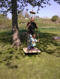 The Heirloom Family: Platform Swing  <> <> <> <> <> Waldorf Steiner Family Home Garden Craft Hobbies Inspiration Magic Enchantment Rhythm Celebrate Childhood Play Nature