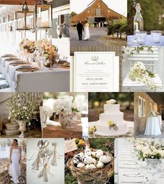 baby's breath wedding inspiration | Hey Gorgeous :: One Chick, Her Biz and A Wedding Blog: Rustic Elegance ...