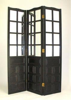 Black Wood - Carved Room Divider With Mirrors Wayborn http://www.amazon.com/dp/B000EFLSV6/ref=cm_sw_r_pi_dp_cHVFub0XEKKP4