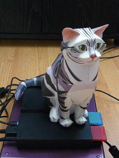Papercraft Cats