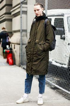 fwah2016 Street looks a la Fashion Week automne-hiver 2016-2017 de New York 17