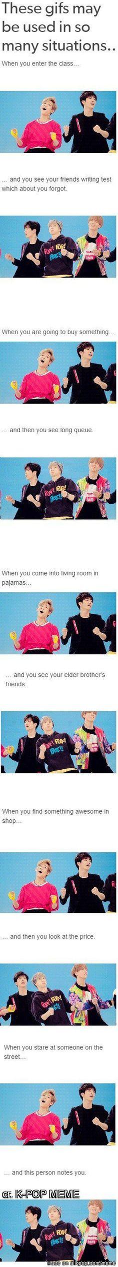 Okay I know this isn't BTS but still, it's pretty funny ! <3