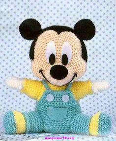 Baby Mickey ... cute