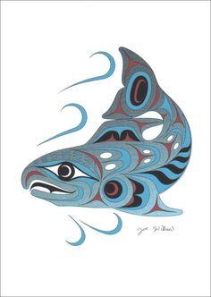 Canadian First Nations art - Joe Wilson