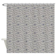 Cool Ethnic Wave Shower Curtain