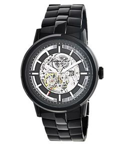Kenneth Cole Automatic watch  (his Christmas present!)
