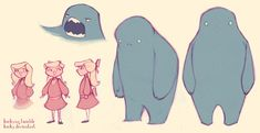 monster and friend by ~Kecky on deviantART