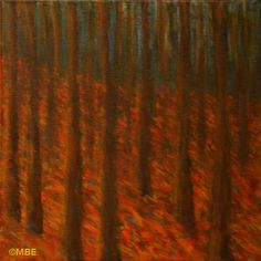 This step-by-step tree painting demonstration shows the creation of a painting of a forest done in the style of Klimt, from start to finish.