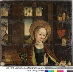 c. 1460 | Mestre da Glorificação da Virgem (Meister der Verherrlichung Mariae) | Políptico (volantes exteriores) | Germanischen National Museum